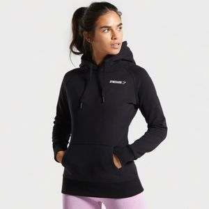 Gymshark Women's Crest Black Hoodie